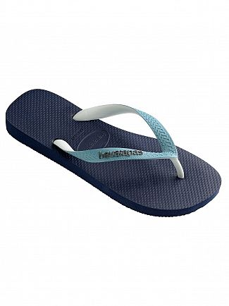 Havaianas Navy Blue/Mineral Blue Top Mix Flip Flops