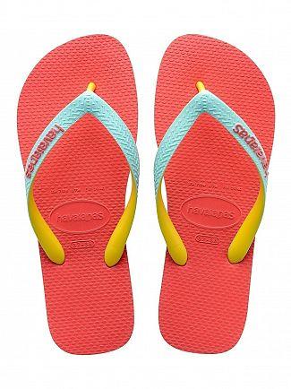 Havaianas Coralnew Top Mix Flip Flops