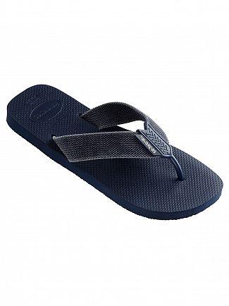 Havaianas Navy/Blue Indigo Urban Basic Flip Flops