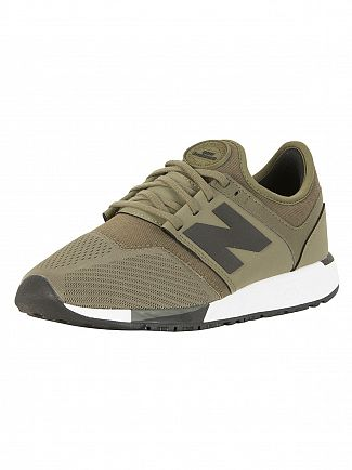 New Balance Green/Black 247 Trainers