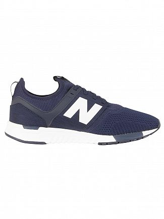 New Balance Navy/White 247 Trainers
