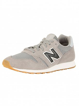 New Balance Grey/Black 373 Trainers