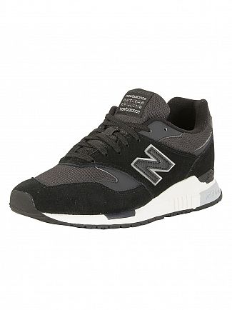 New Balance Black 840 Trainers