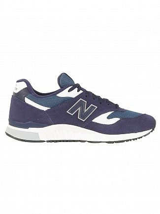 New Balance Blue/White 840 Trainers