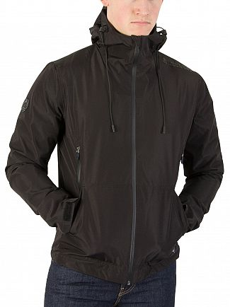 Superdry Black Elite Windcheater Jacket