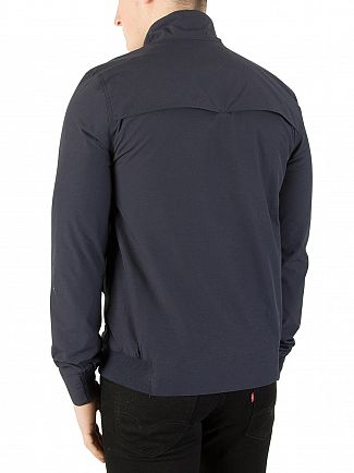 Superdry Washed Navy Montauk Harrington Jacket