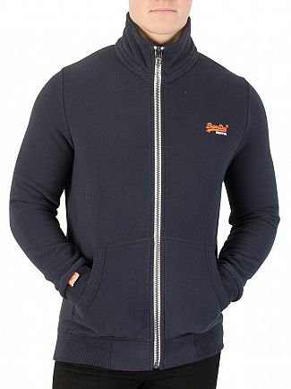 Superdry Pitch Navy Orange Label Track Top