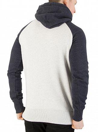 Superdry Stadium Silver/Bass Blue Premium Goods Pullover Hoodie