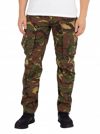 G-Star Dark Fall Rovic 3D Tapered Cargos