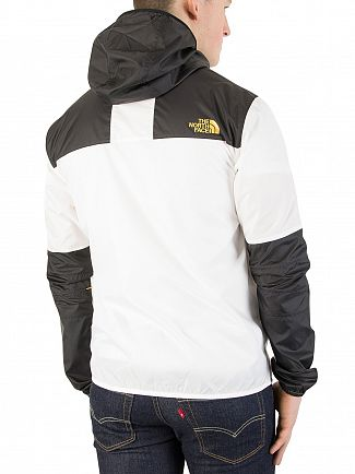 The North Face White/Black 1985 Mountain Jacket