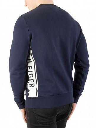 Tommy Hilfiger Navy Blazer Logo Sweatshirt