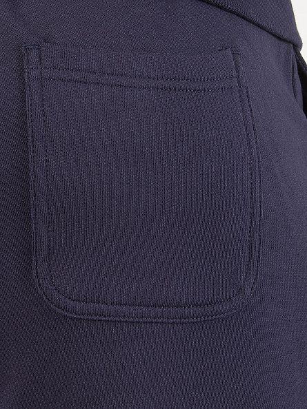 Lyle & Scott Navy Logo Sweat Shorts