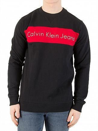Calvin Klein Jeans Black Hayo Sweatshirt