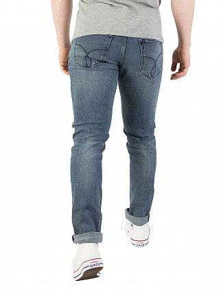 Calvin Klein Jeans Keanue Blue Skinny Jeans