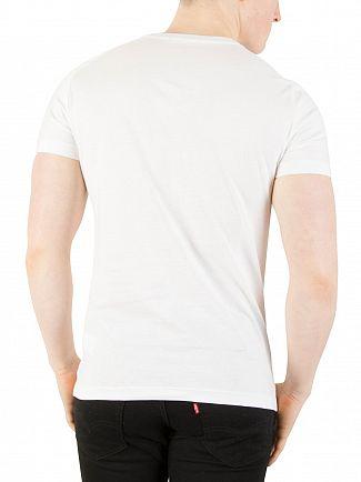 Calvin Klein Jeans Bright White Teasia Slim T-Shirt