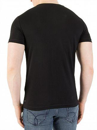 Calvin Klein Jeans Black Treasure Slim T-Shirt