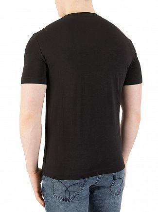 EA7 Black Graphic T-Shirt