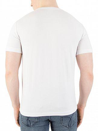 EA7 White Graphic T-Shirt