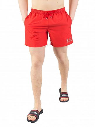 EA7 Red Sea World Swim Shorts