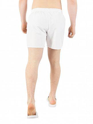 EA7 White Sea World Swim Shorts