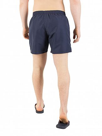 EA7 Navy Blue Sea World Swim Shorts