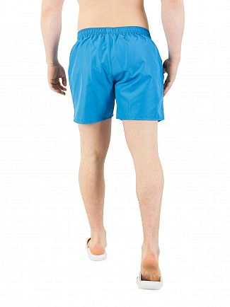 EA7 Turquoise Blue Sea World Swim Shorts