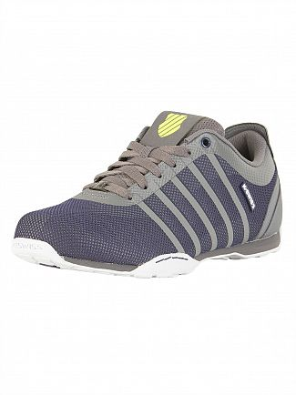 K-Swiss Charcoal/Navy Arvee 1.5 Tech Trainers