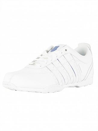 K-Swiss White/Classic Blue Arvee 1.5 Trainers