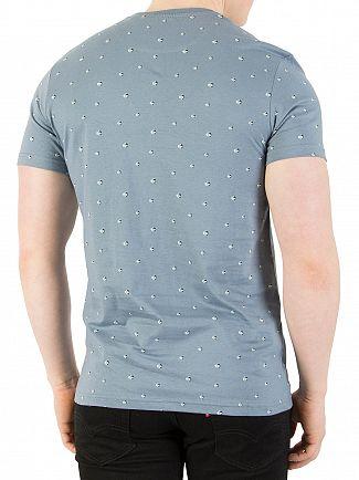 Lyle & Scott Mist Blue Beachball Print T-Shirt