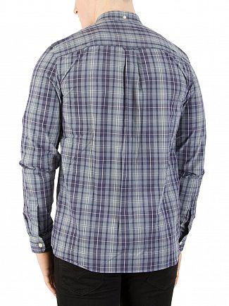 Lyle & Scott Mist Blue Check Shirt