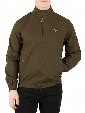 Lyle & Scott Dark Sage Harrington Jacket