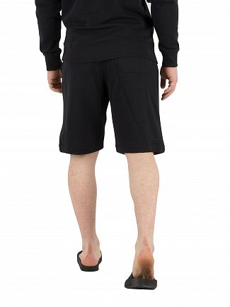 Lyle & Scott True Black Logo Sweat Shorts