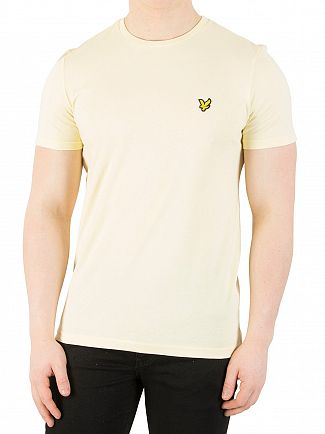 Lyle & Scott Butter Cream Logo T-Shirt
