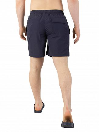 Lyle & Scott Navy Plain Swim Shorts