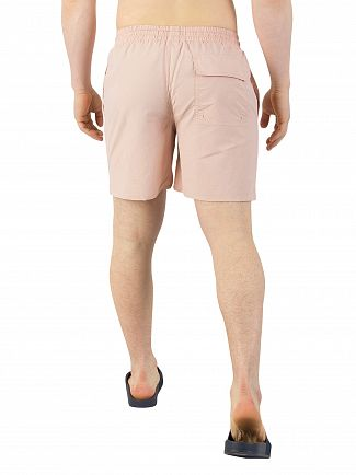 Lyle & Scott Dusty Pink Plain Swim Shorts