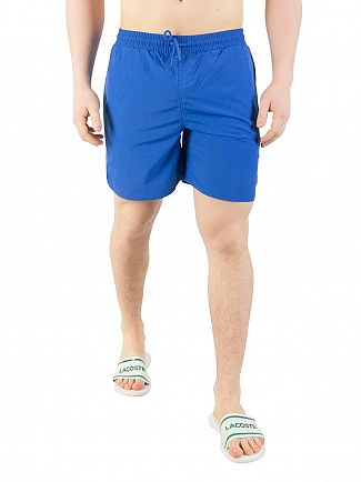 Lyle & Scott Lake Blue Plain Swim Shorts