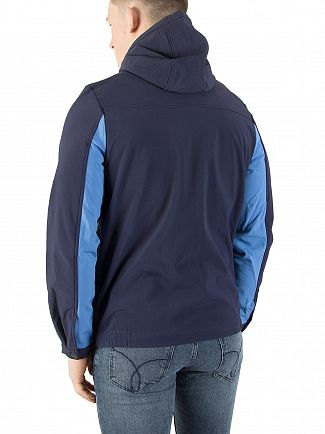 Lyle & Scott Navy Casuals Softshell Block Jacket