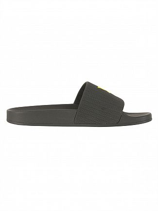 Lyle & Scott True Black Thomson Flip Flops