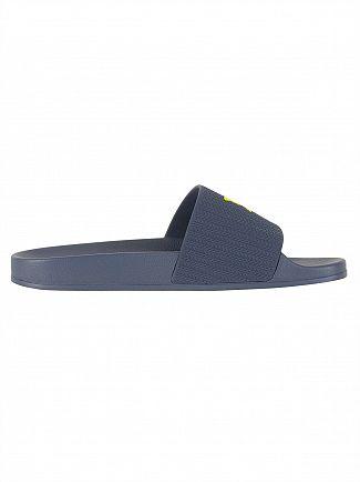 Lyle & Scott Navy Thomson Flip Flops