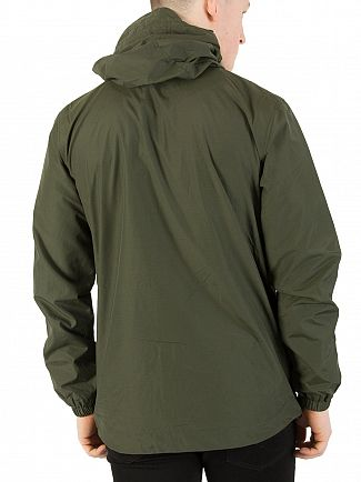 Lyle & Scott Dark Sage Zip Though Hooded Jacket