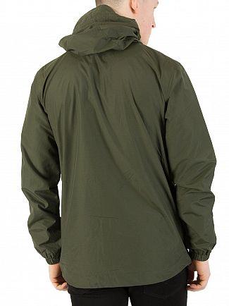 Lyle & Scott Dark Sage Zip Though Hooded Jacket