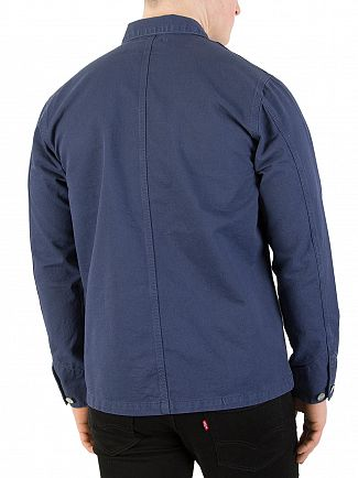 Carhartt WIP Blue Michigan Chore Jacket