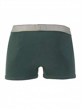 Calvin Klein Ink Green Customized Stretch Trunks