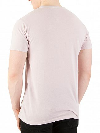 Hackett London Washed Pink Mr Classic T-Shirt