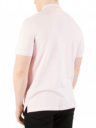 Hackett London Light Pink New Classic Polo Shirt