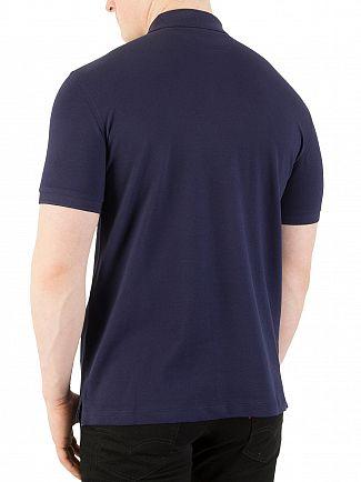 Hackett London Navy New Classic Polo Shirt