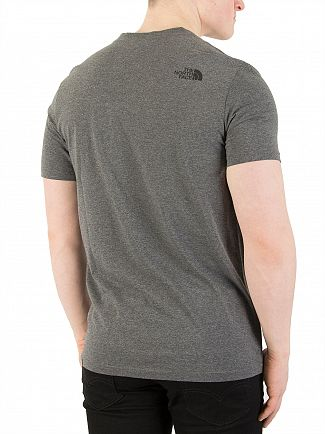 The North Face Grey Heather Easy T-Shirt