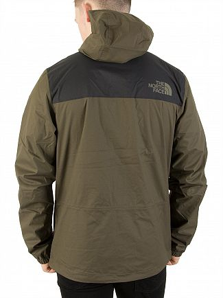 The North Face Black/Taupe Green 1990 Mountain Q Jacket