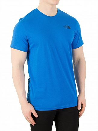 The North Face Bomber Blue Simple Dome T-Shirt