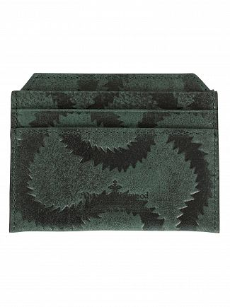 Vivienne Westwood Green Belfast New Credit Card Holder